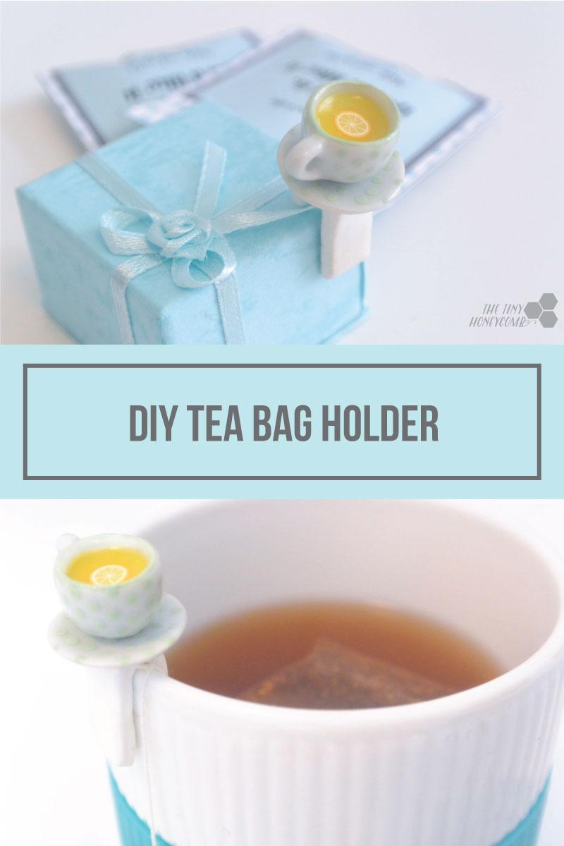 DIY Tea Bag Holder - The Tiny Honeycomb