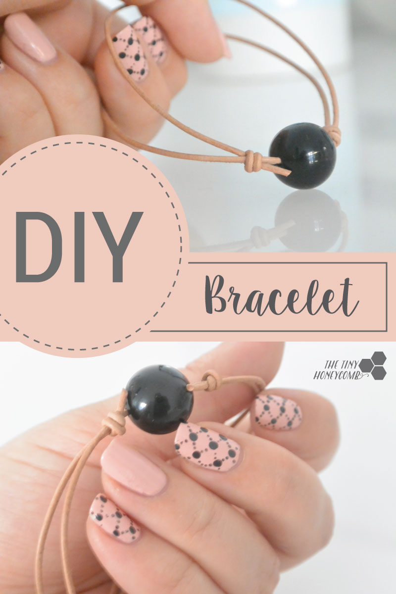 How to make an adjustable knot bracelet