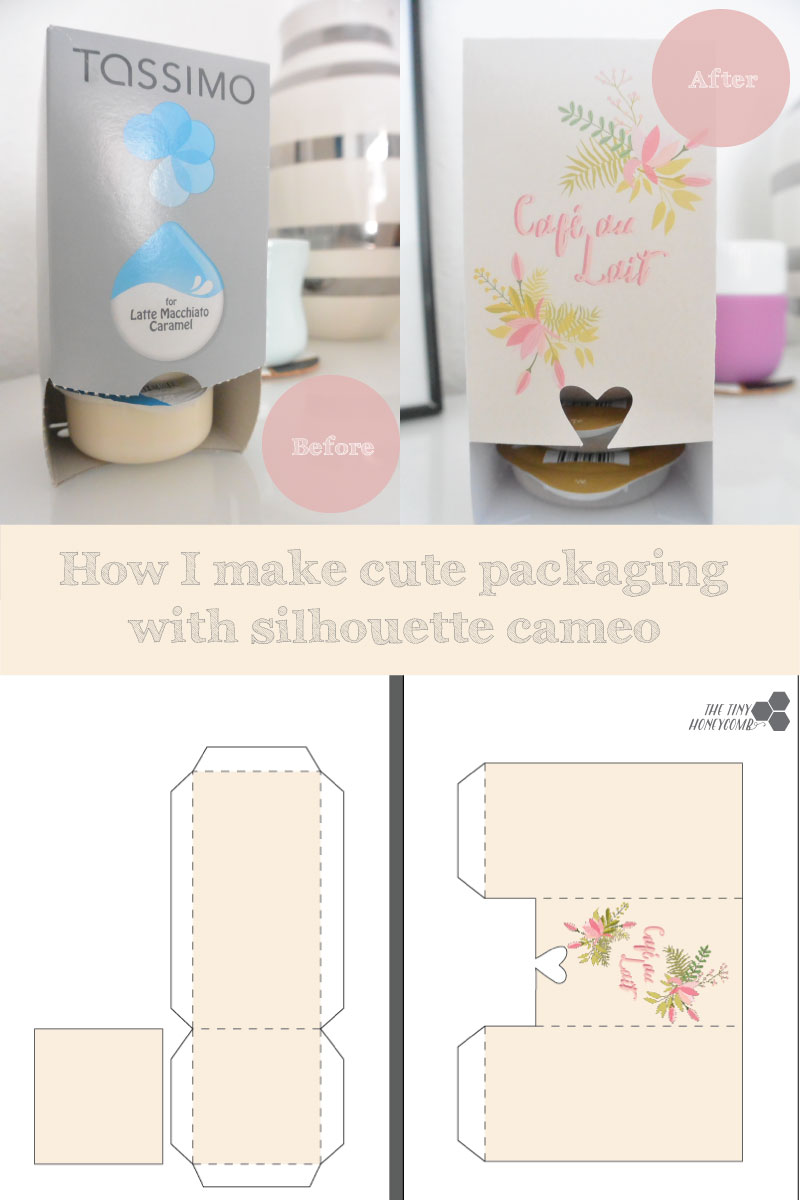 How to make cute packaging with the silhouette