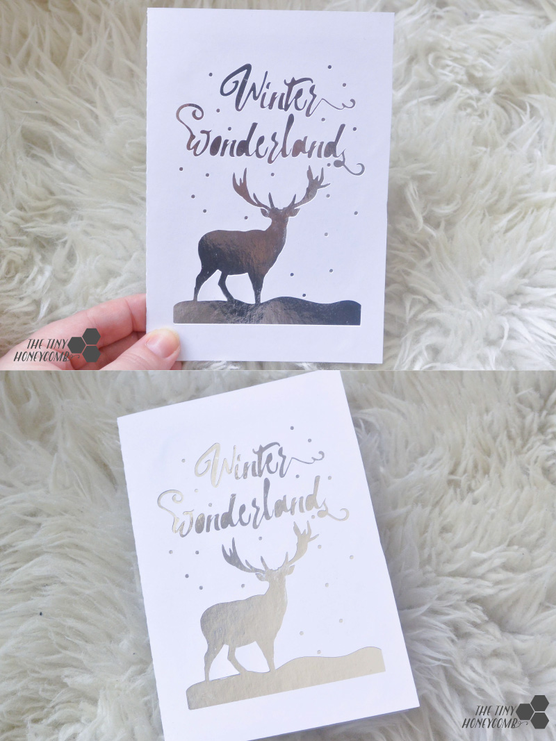 Winter wonderland cutting file for the silhouette Cameo cutting machine.
