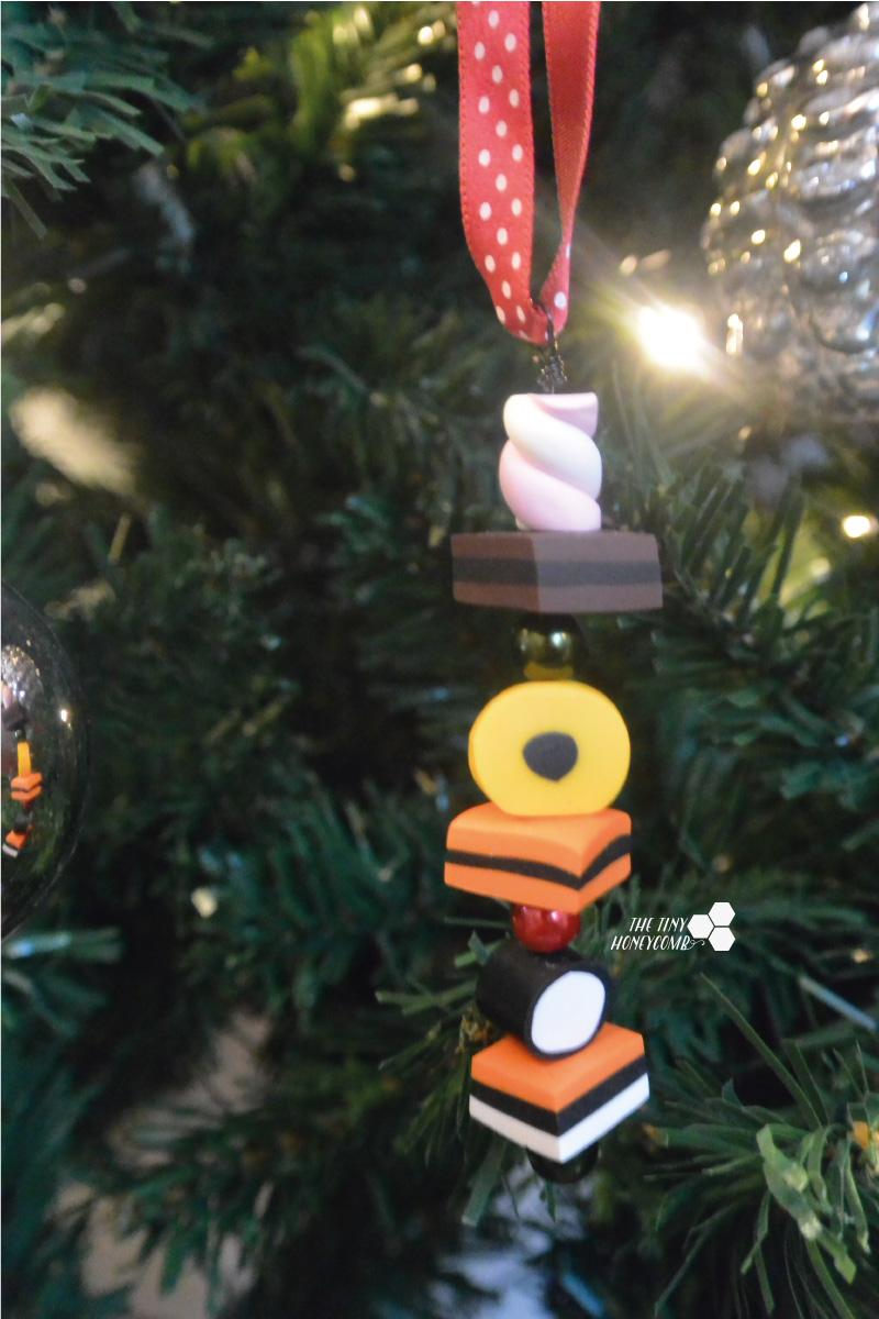 Christmas ornament DIY - Fimo polymer clay charms