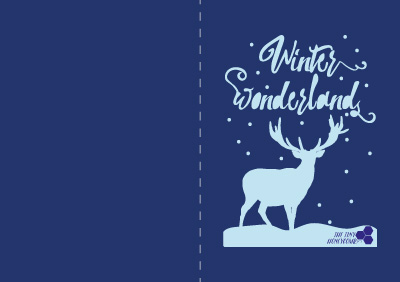 Winter wonderland cut file for the silhouette