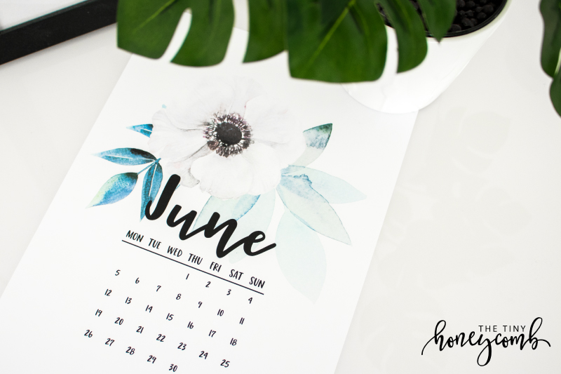 How to make a printable calendar. Diy printable calendar in Illustrator