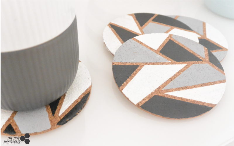 Easy and cheap diy coasters - Ikea hack
