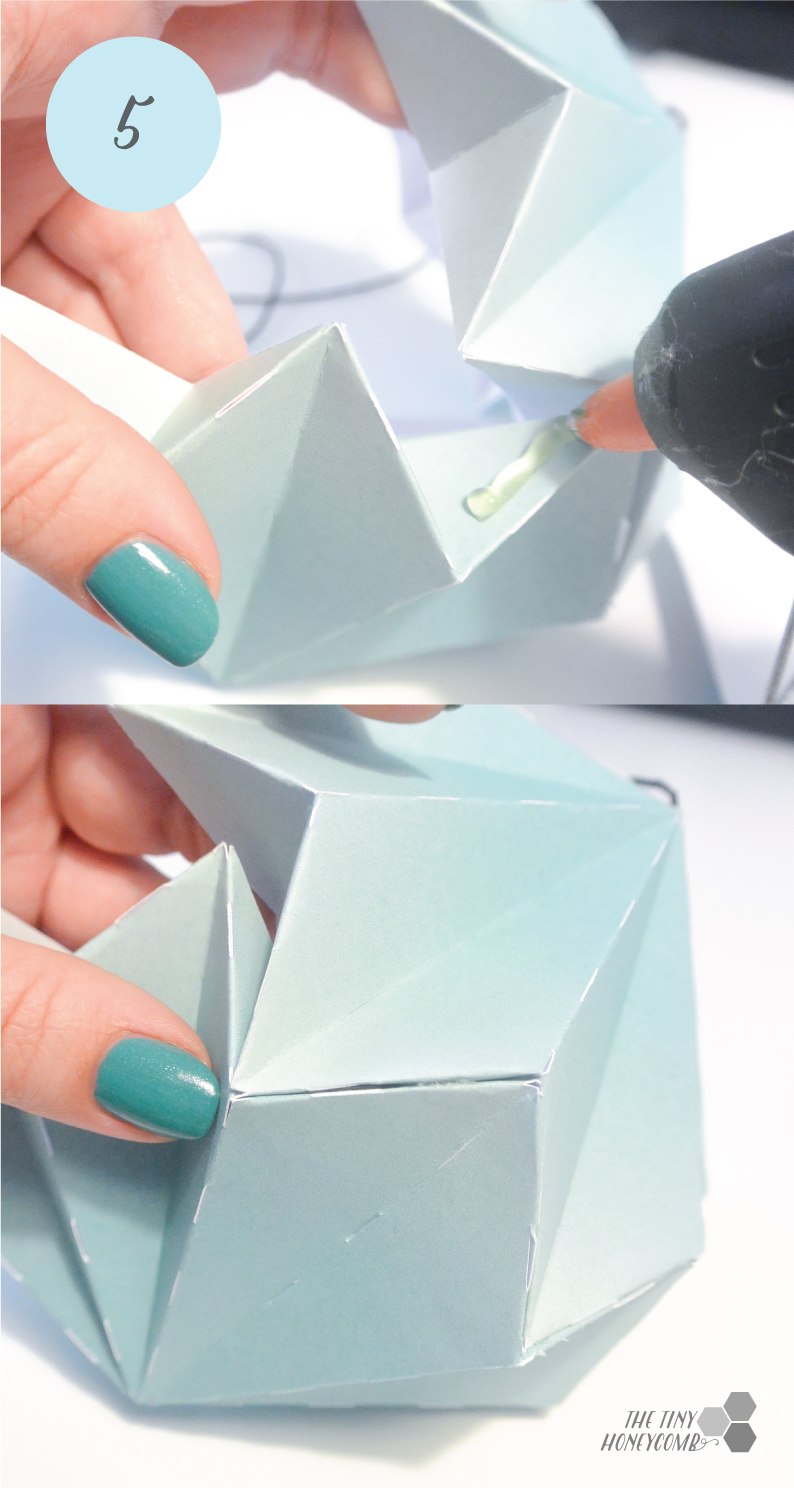 origami diamonds