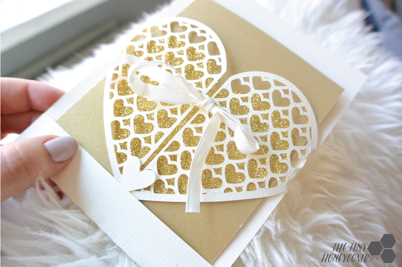 Diy wedding card and envelope