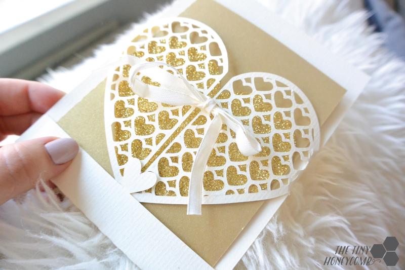Diy wedding card and envelope