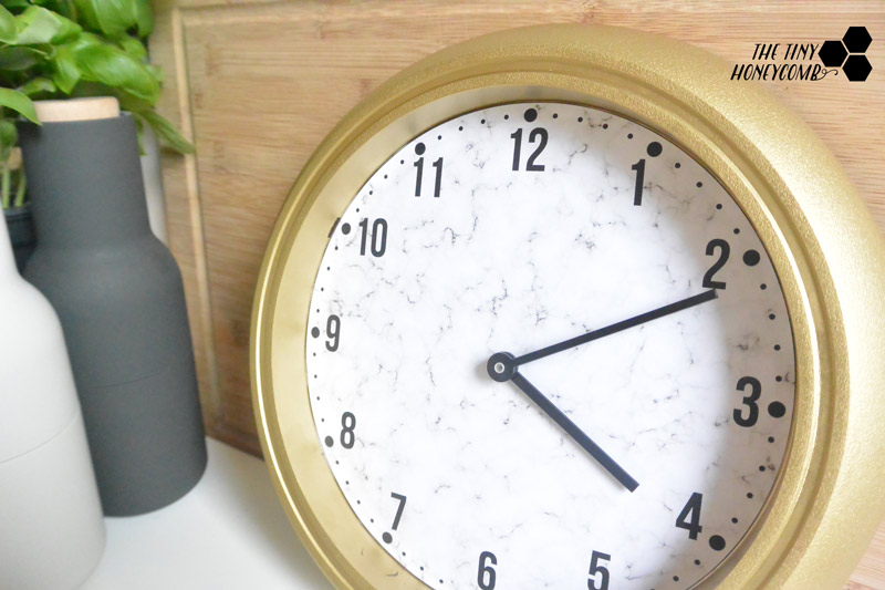IKEA-clock-makeover.-DIY-clock-tutorial.-The-tiny-honeycomb-blog