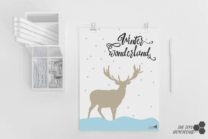 Free printable for Christmas.