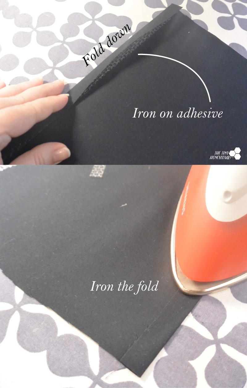 how to make a zipper bag step 1