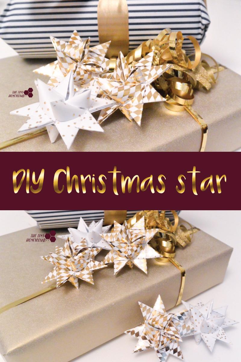 DIY Christmas Star - Decor and Ornament Idea for christmas.