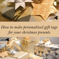 How to make personalized gift tags for your christmas presents
